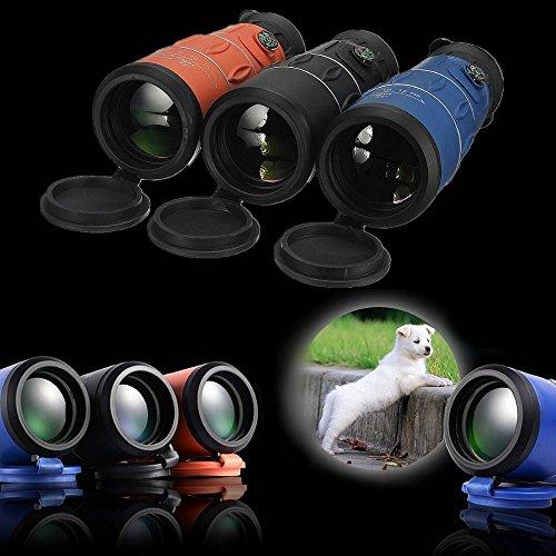 Telescopio Monocular óptico Camping de Caza Panda 26x52 66M / 8000M HD Clear Zoom Aventura Cielo Estrellado (Azul)