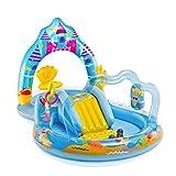 INTEX Königreich einer Meerjungfrau Baden Pool Planschbecken planschen 279x160x140 cm