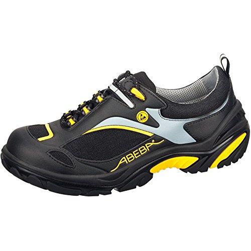 Abeba Crawler Chaussures basses Noir/Jaune ESD S1P Noir/Jaune
