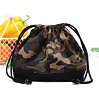 Drawstring Gokigen lunch (medium size) gusset lunch bag camouflage moss green made in Japan N3412400 (japan import) preisvergleich bei kinderzimmerdekopreise.eu