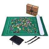 Jaques of London Puzzlematte BIS 2000 Teile - Puzzlematte mit faltbarem Stoff - Puzzle-Rolle - Rollmatte mit leicht zu fassen