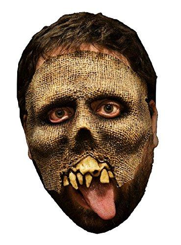 ske aus Latex Zombiemaske zum Halloween Kostüm ()