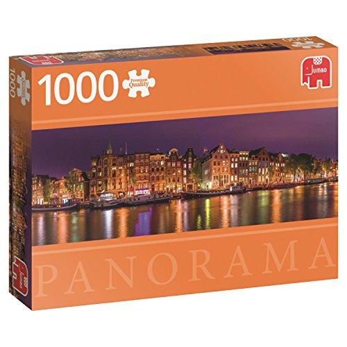 Jumbo - Amsterdam Skyline, Puzzle de 1000 Piezas (618575)