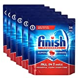 #2: Finish All in 1 Max Powerball - 204 Tablets (Pack of 6)