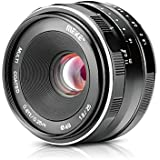 Meike MK 25mm F/1.8 Large Aperture Wide Angle Lens Manual Focus Lens For Canon EOS-M Mount Mirrorless Cameras