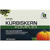 Avitale Kürbiskern Komplex Kapseln, 140 Stück, 1er Pack (1 x 122 g) preisvergleich bei billige-tabletten.eu