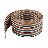 304,8 cm 30 pin arcobaleno colore a nastro piatto cavo IDC Cavo 1,27 mm per Arduino