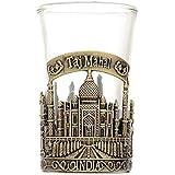 Souvenir Taj Mahal India Shot Glass,Perfect souvenir for home,gifts and travel (green color)