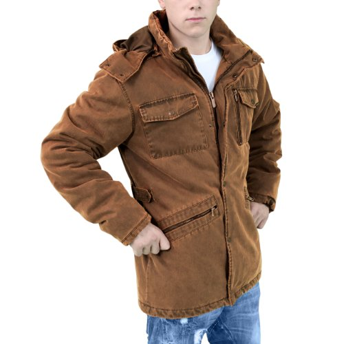 Surplus Homme Xylontum Supreme Veste imperméable gold
