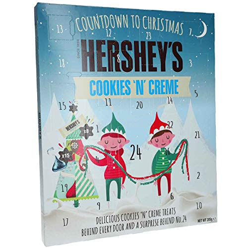 New for 2019 Hershey's Advent Calendar Cookies 'n' Creme Christmas Xmas Gift...