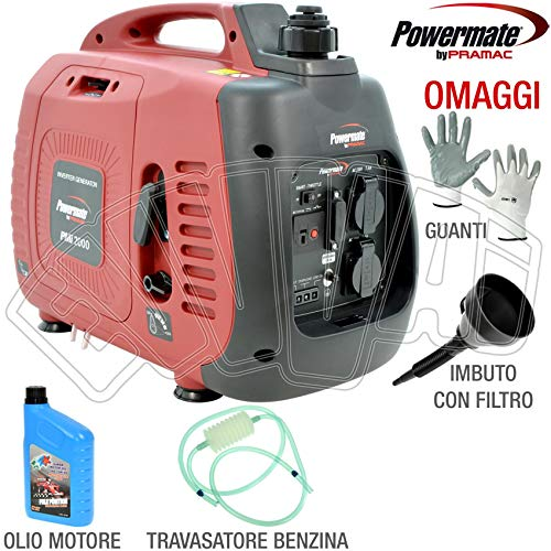 Generatore di corrente inverter 2,0 Kw Pramac PMi2000 - SILENZIATO