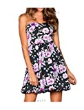 Bruno Banani Damen-Kleid Satinkleid Mehrfarbig Größe 44