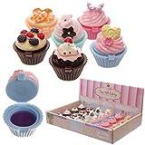 European Pack 24 und Bálsamo Labial Cupcakes.
