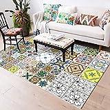 YUGUO La Alfombra Bohemian Style Decor Floor Mat European Large Area Rugs Geometric Multi-Pattern Carpet For Living Room Bedroom Anti-Slip
