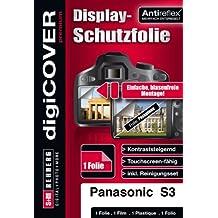 digiCOVER - Pellicola protettiva premium per Panasonic DMC-S3