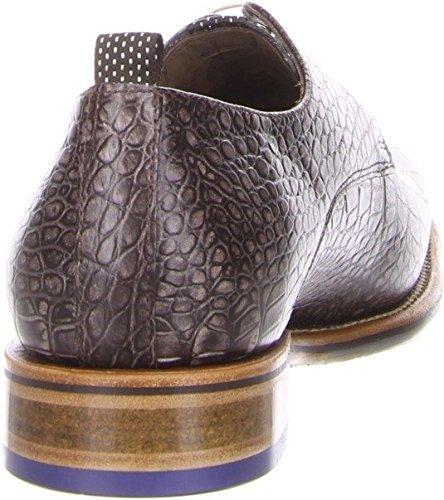 Floris van Bommel  14321-00, Chaussures de ville à lacets pour homme Marron