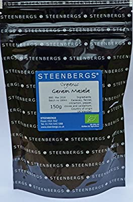 Organic Garam Masala 150g Bag by Steenbergs