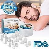 Dispositifs Anti Ronflement, Anti Ronflement Nez Vents Anti Ronflement Solution Snore Stopper Dilatateurs Nasaux Sommeil et Ronflements Snore Sommeil pour les Hommes Femmes Enfants