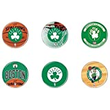 'Oficial NBA 'Boston Celtics Button, pin, Pins como - Juego de 6