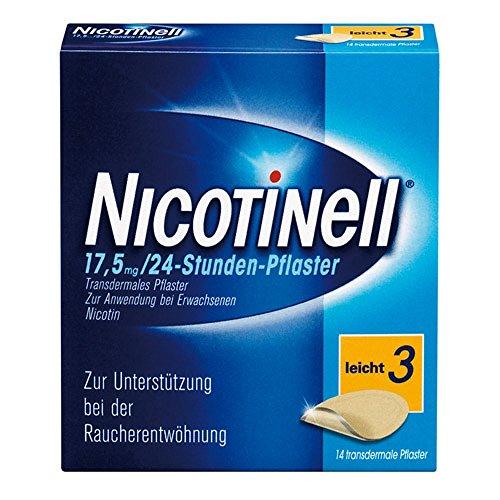 NICOTINELL 17,5 mg 24 Stunde 14 St Pflaster transdermal