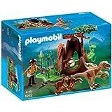 Playmobil - Velociraptors con exploradora (5233)