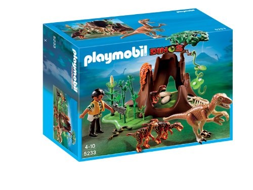Playmobil 5233 - Deinonico e Velociraptor