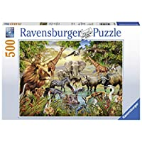 Ravensburger Animals at the Waterhole 500pc Jigsaw Puzzle