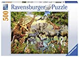 Ravensburger Puzzle Tiere am Wasserloch, 500 Teile