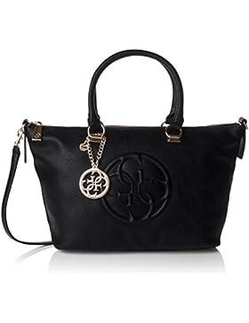 Guess Damen Korry Crush Satchel Handtaschen, Einheitsgröße