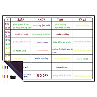 A3 Dry Erase Weekly Planner Board, 16
