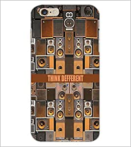 PrintDhaba Quote D-4048 Back Case Cover for APPLE IPHONE 6 PLUS (Multi-Coloured)