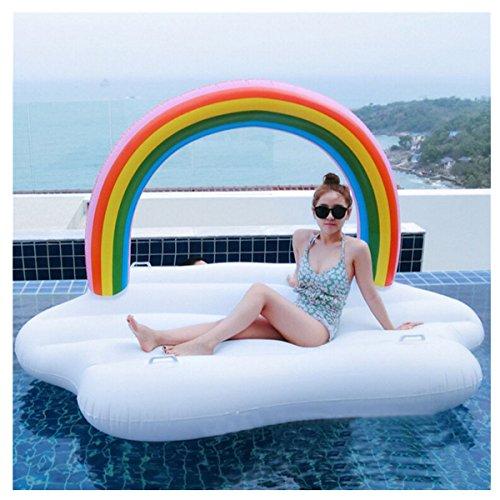 Sommer - pool - party im Wasser schwimmende reihen spielzeug, rettungsring, 220x145x135cm Instagram verkauft, Twitter -, Facebook - Absatz
