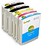 Gohepi Compatible Cartridge Replacement for HP 940XL Ink Cartridges, 1 Set+1 Black Compatible with HP Officejet Pro 8500A Plus 8500 8000