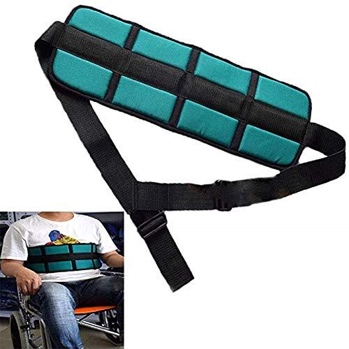 Gepolsterter Sicherheitsgurt für Rollstuhl, fester Sicherheitsgurt, Zwangsgurt für ältere Personen, einstellbarer Sicherheitsgurt für Rollstuhl