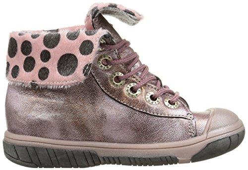 Babybotte Artiste2, Sneakers Hautes fille Rose (406 Rose Métallisé)