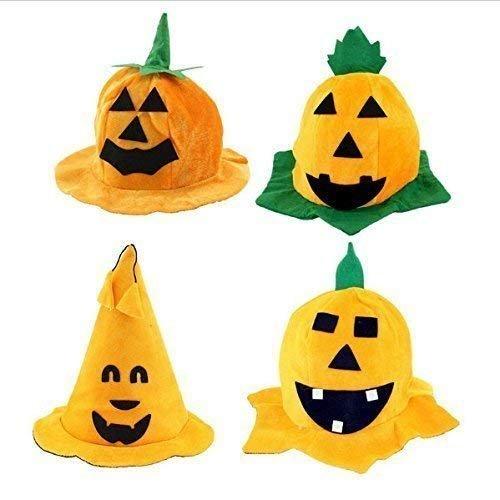 Kürbis Hut Hexe Hut Kostüm Party Kostüm Kappe Party Dress Up Spiel Performances Kopfschmuck Supplies Halloween Dekor für Kinder Caps Erwachsene Kinder Cosplay ()