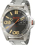 Hugo Boss Orange Berlin Men's Quartz Analogue Classic Silver Stainless Steel Bracelet 1513317