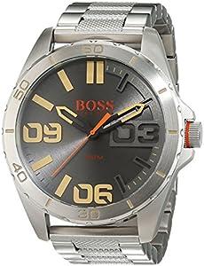 Hugo Boss Orange - Reloj de pulsera analógico para hombre con correa de acero inoxidable - 1513317 de BOSS Orange