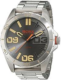 BOSS Orange Herren-Armbanduhr Analog Quarz Edelstahl 1513317