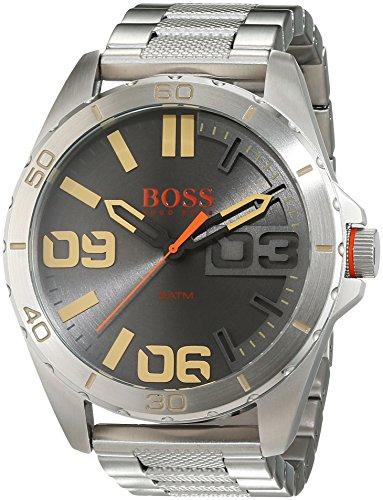 Hugo Boss Orange - Reloj de pulsera analógico para hombre con correa de acero inoxidable - 1513317