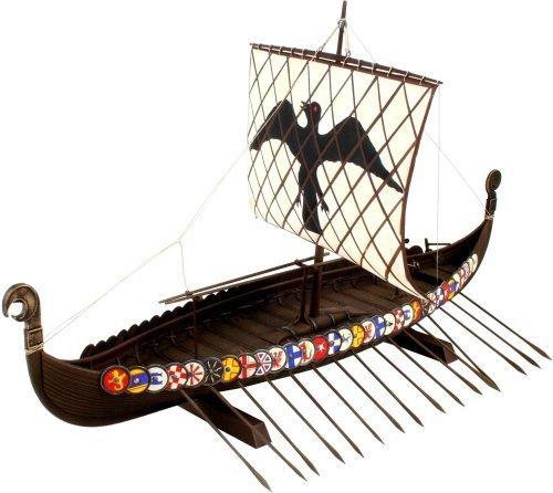 Revell de Alemania Vikingo Barco Maqueta De Plástico En Kit, Modelo: 80-5403, Juguetes Y Juegos