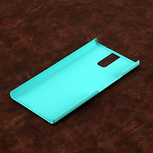 Owbb Hülle für Oukitel K3 Smartphone Handyhülle Ultradünne PC Kunststoff-Hard Case mit Backcover Design Hochwertige Anti-Wrestling Function Blau