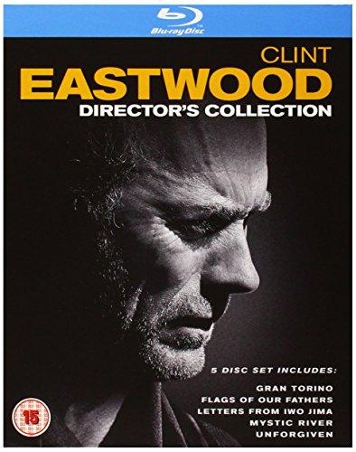 [UK-Import]Clint Eastwood The Directors Collection 5 Disc Box Set Blu-Ray (Clint Dvd-box-set)