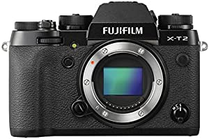 Fujifilm X-T2 Systemkamera nur Gehäuse (24,3 Megapixel) schwarz