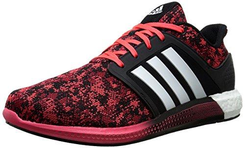 Adidas Performance solaire Rnr M Chaussure de course, noir / noir / clair Onix gris / gris, 6,5 M Us Black/White/Shock Red