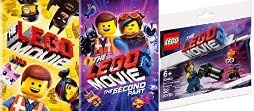 Hit The Yellow Bricks: The Lego Movie & The Lego Movie 2 The Second Part DVD Bundle + Bonus LEGO Movie 2 Rex's Plantimal Ambush 30460