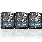 Barista Moments 3er Pack Cappuccino Kaffeekapseln – 48 Dolce Gusto kompatible Kapseln | Fairtrade (3 x 16 Kapseln)