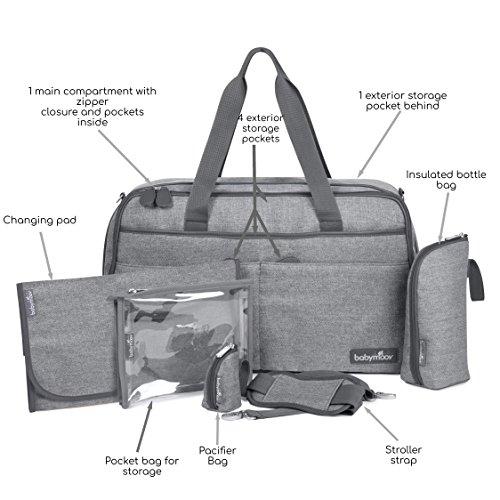 Babymoov Wickeltasche Traveller Bag, smokey - 2
