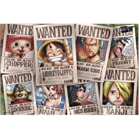 One Piece Straw Hat Crew Wanted Poster Puzzle 1000 Piece (japan import)
