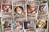 One Piece Straw Hat Crew Wanted Poster Puzzle 1000 Piece (japan...
